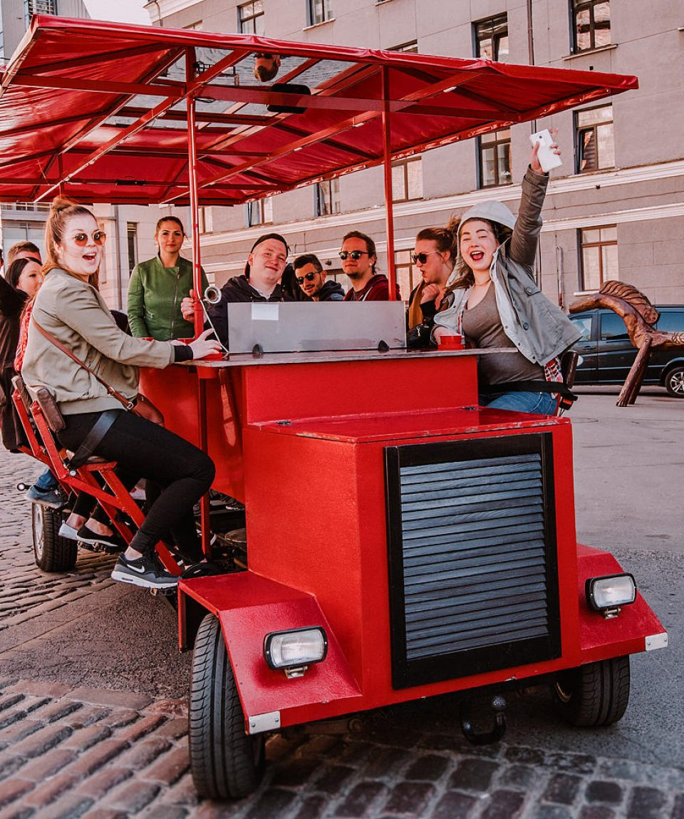 Riga Beer Bike Experience